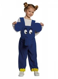 Der Elefant™ Sendung mit der Maus™ Kinderkostüm blau