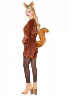 Eichhörnchen-Kostüm für Damen braun