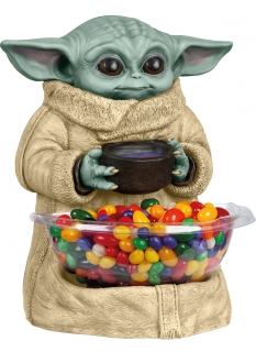Offizielles Baby Yoda™-Bonbonglas Star Wars™ The Mandalorian™ bunt 36 cm