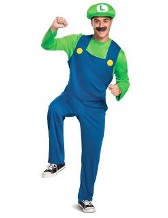 Tolles Luigi™-Herrenkostüm Lizenzartikel bunt