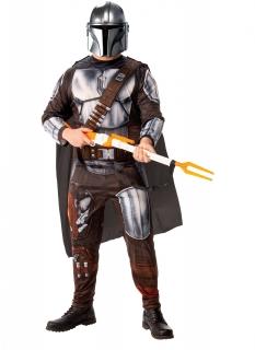 The Mandalorian™ Lizenzkostüm für Herren silberfarben-braun