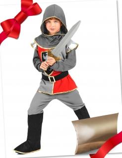 Mutiger Ritter Geschenkbox für Kinder 3-teilig bunt