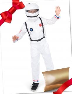 Astronauten-Geschenkbox für Kinder bunt
