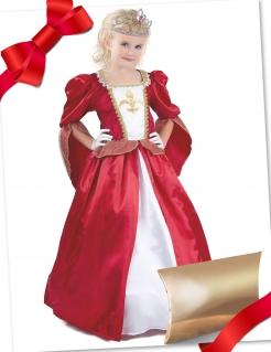 Mittelalter-Prinzessin Geschenkbox für Kinder bunt