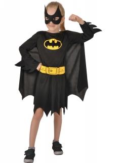 Offizielles Batgirl™-Kostüm für Mädchen schwarz-gelb