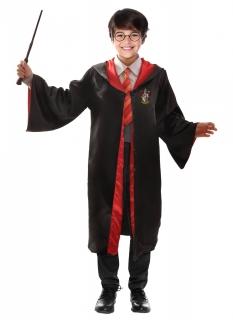Magisches Harry Potter™-Kostüm für Kinder offizieller Lizenzartikel schwarz-rot-gelb