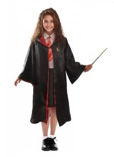 Offizielles Hermine Granger Kostüm für Mädchen Harry Potter™ rot-schwarz-gelb