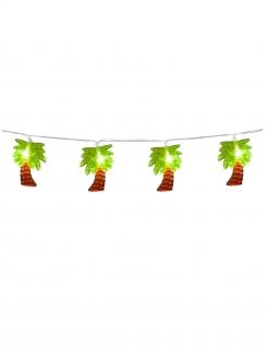 Leuchtende Palmen-Girlande Sommerparty-Deko bunt 140 cm