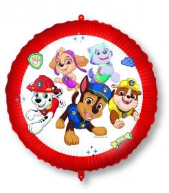 Paw Patrol™-Lizenzballon Kindergeburtstags-Deko bunt 46 cm