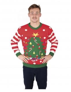 Oh Tannenbaum Weihnachtspullover für Erwachsene bunt