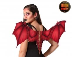 Hochwertige Drachenflügel für Erwachsene rot 97 x 37 cm