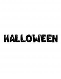 Halloween-Girlande Raumdeko schwarz 9 x 40 cm