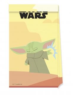Baby Yoda-Geschenketüten The Mandalorian™ 4 Stück bunt
