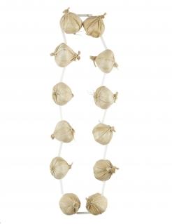 Knoblauch-Halskette für Erwachsene