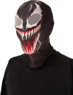 Offizielle Venom™-Stoffmaske für Erwachsene schwarz-weiß-rot