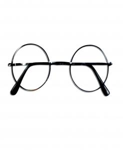 Offizielle Harry Potter™-Brille Kostümzubehör rund schwarz