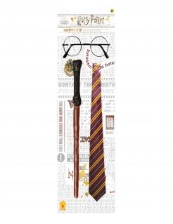 Offizielles Harry Potter™ Zubehörset für Kinder 3-teilig bunt