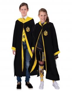 Offizielles Hufflepuff-Kostüm für Kinder Harry Potter™ schwarz-gelb