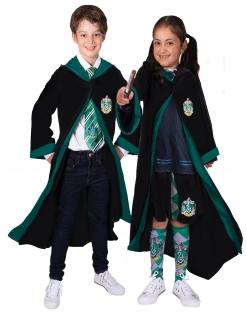 Offizielles Slytherin-Kinderkostüm Harry Potter™ schwarz-grün