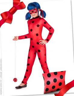 Verspieltes Ladybug™-Kostüm-Set für Mädchen 6-teilig rot-schwarz-blau