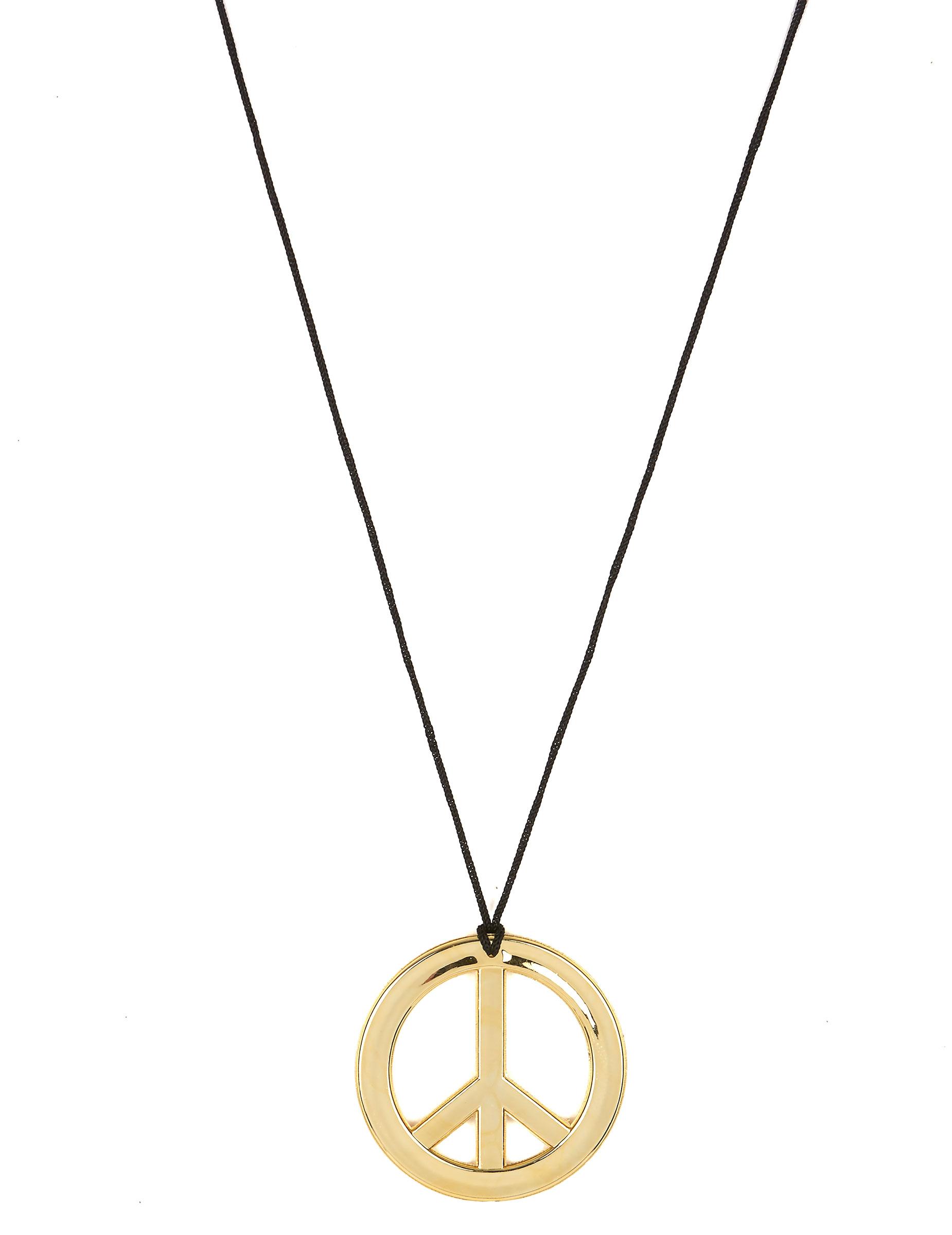 metall halskette hippie kette gold g nstige faschings. Black Bedroom Furniture Sets. Home Design Ideas