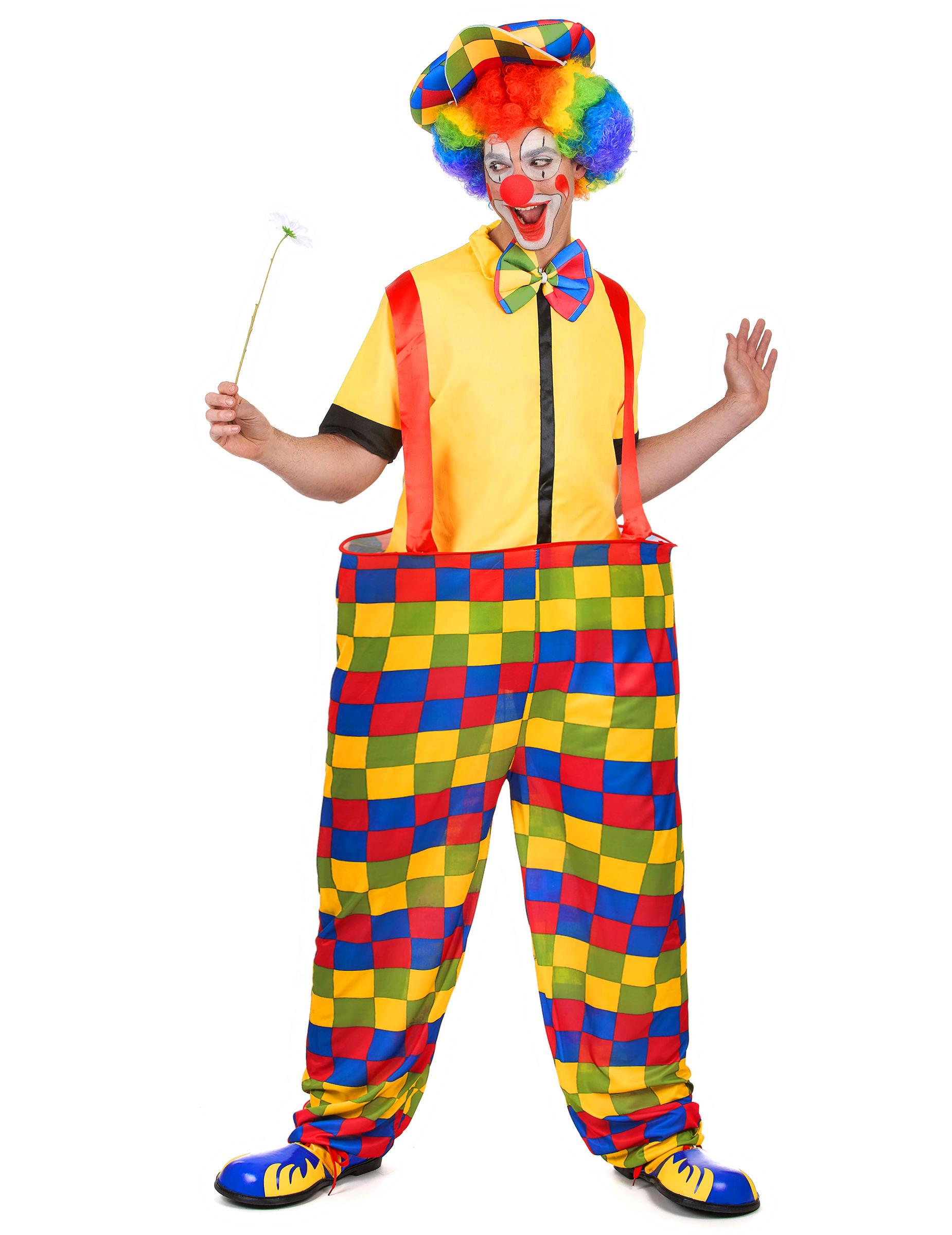 lustiger clown kost m zirkus bunt g nstige faschings kost me bei karneval megastore. Black Bedroom Furniture Sets. Home Design Ideas