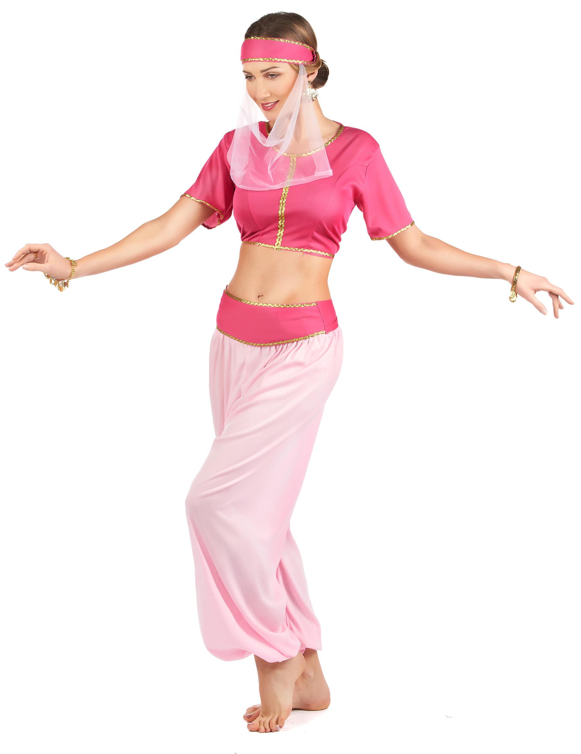 Orientalische Prinzessin Damenkostum Harem Rosa Pink Gunstige