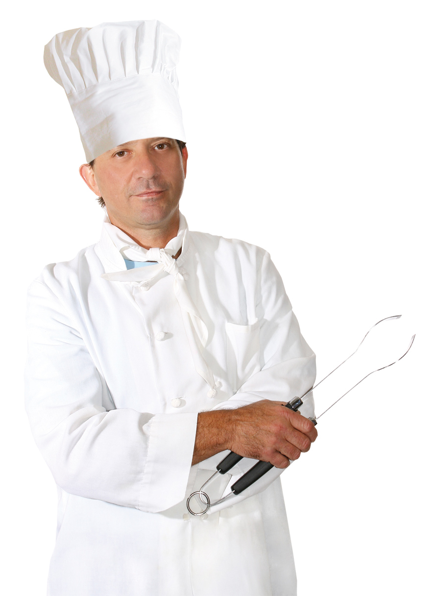 NEU Damen-Kostüm Köchin Kleid mit Hut Kochmütze Köchinkostüm Kochkostüm