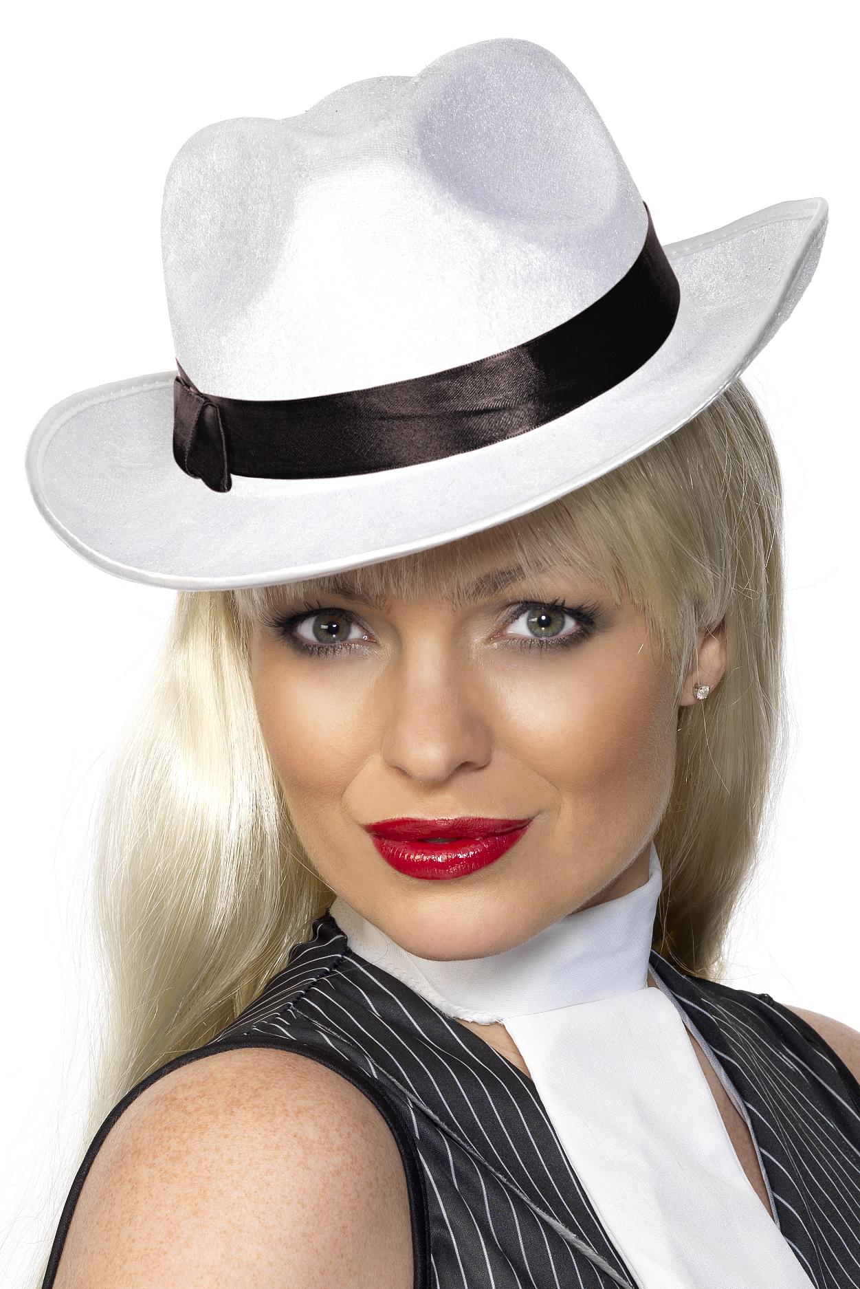 Gangster Hut zum Mafia Gauner Kostüm an Karneval Fasching