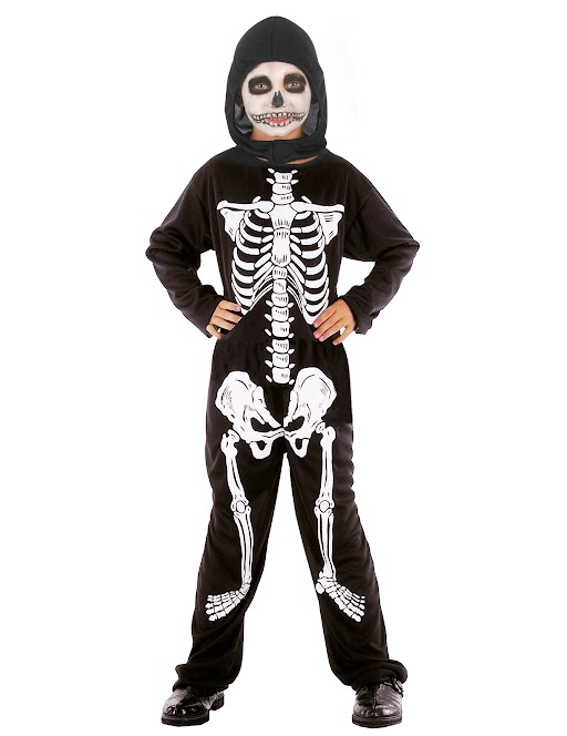 Halloween Kostume Jungs.Jungen Skelett Halloween Kostum Schwarz Weiss Gunstige Faschings Kostume Bei Karneval Megastore