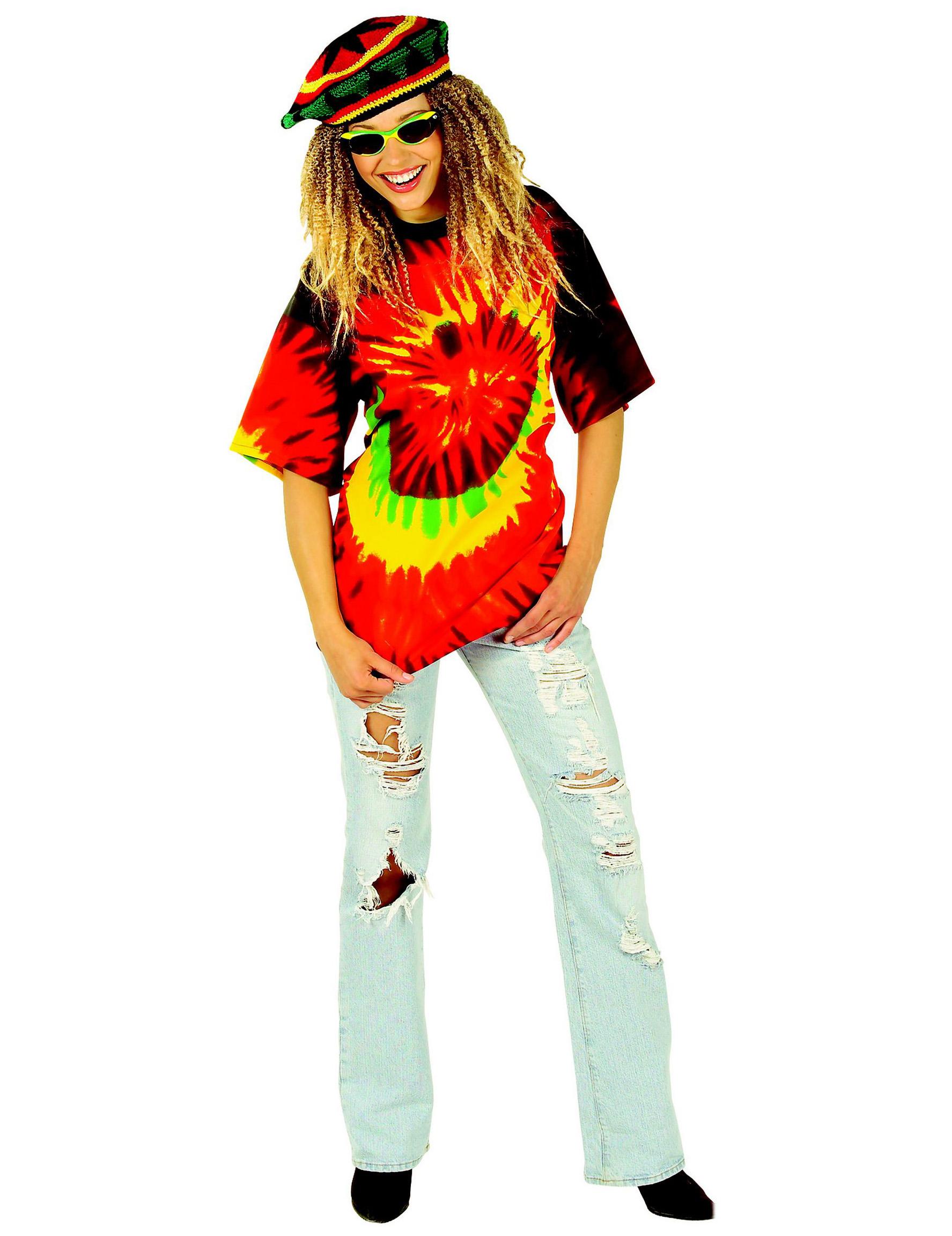 hippie shirt g nstige faschings kost me bei karneval megastore. Black Bedroom Furniture Sets. Home Design Ideas