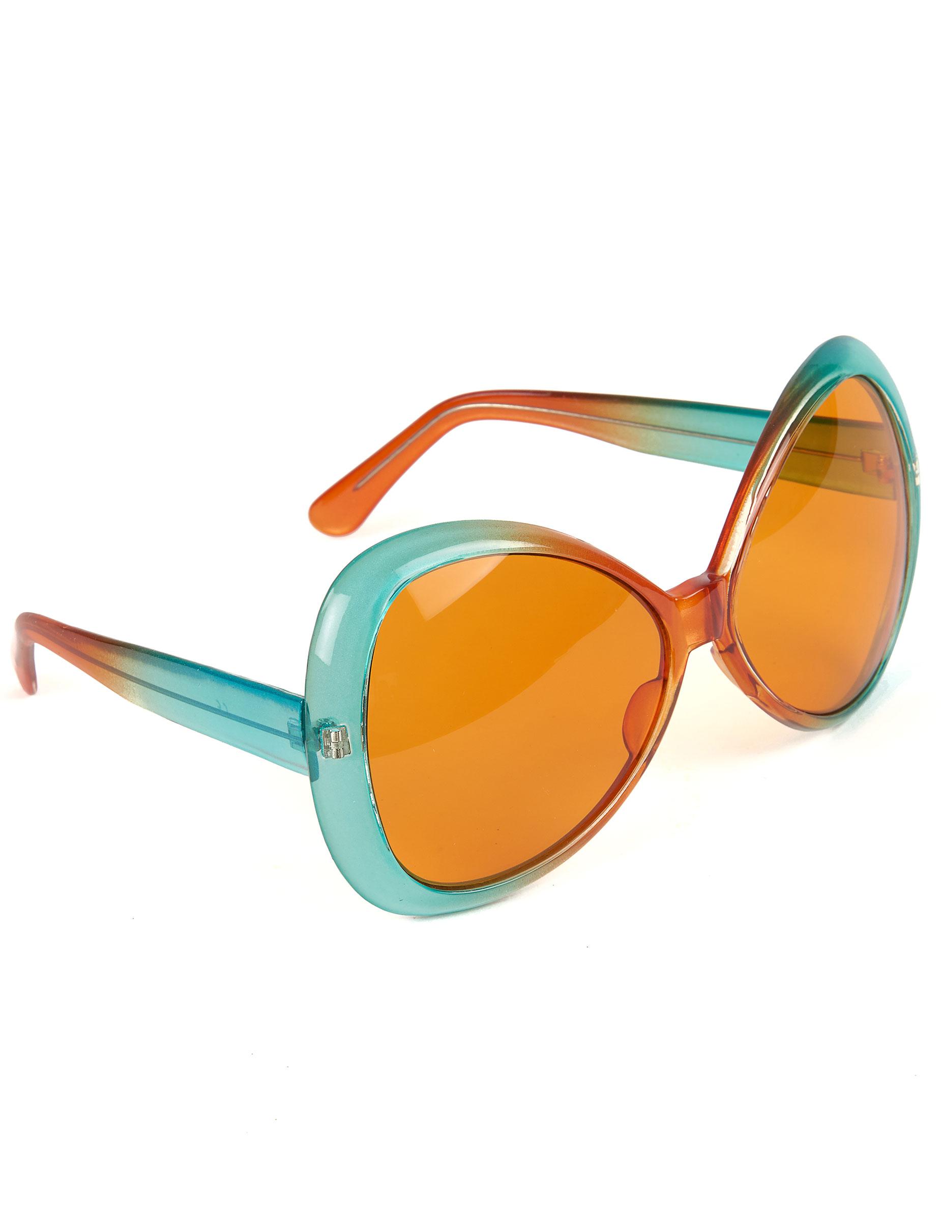 b9fd12d545ac Hippie Brille für Damen und Herren blau
