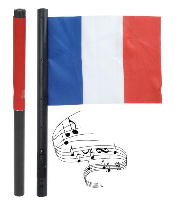 Französische Flagge Mit Musik Blau-weiss-rot 29 X 20cm