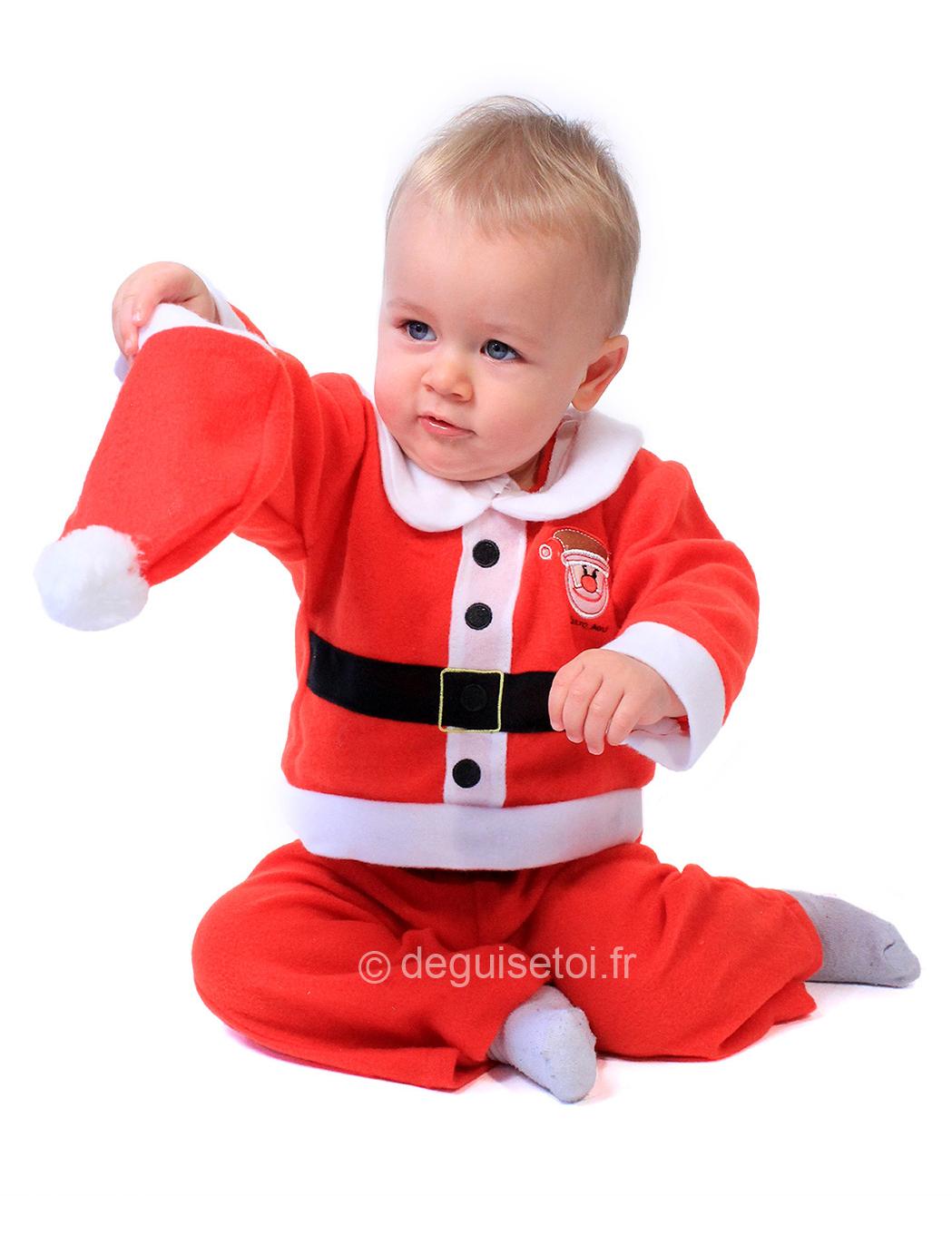 weihnachtsmann babykost m weihnachtskost m f r babys rot. Black Bedroom Furniture Sets. Home Design Ideas