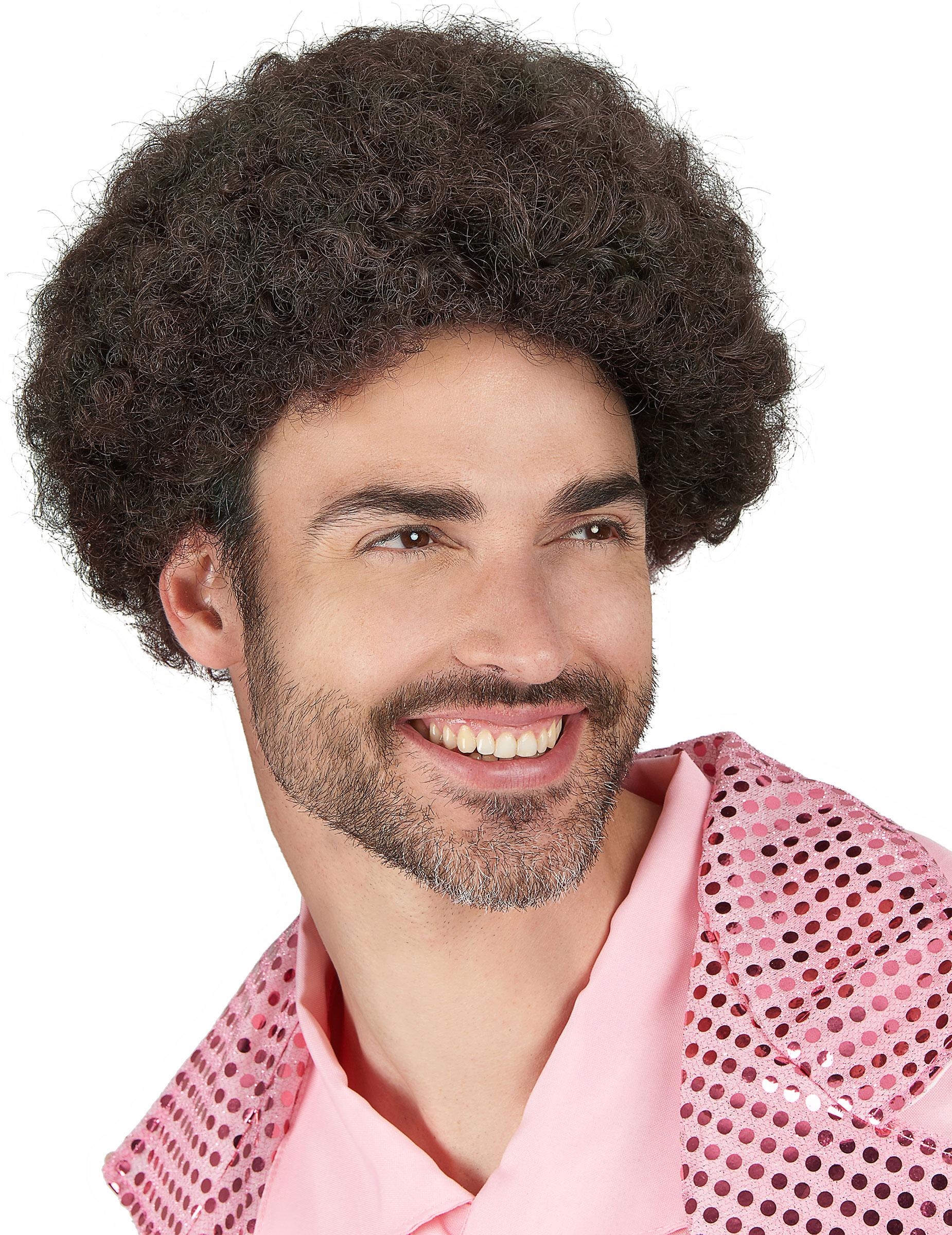 das billigste am besten wählen neue Version Disco Minipli Afro-Perücke braun
