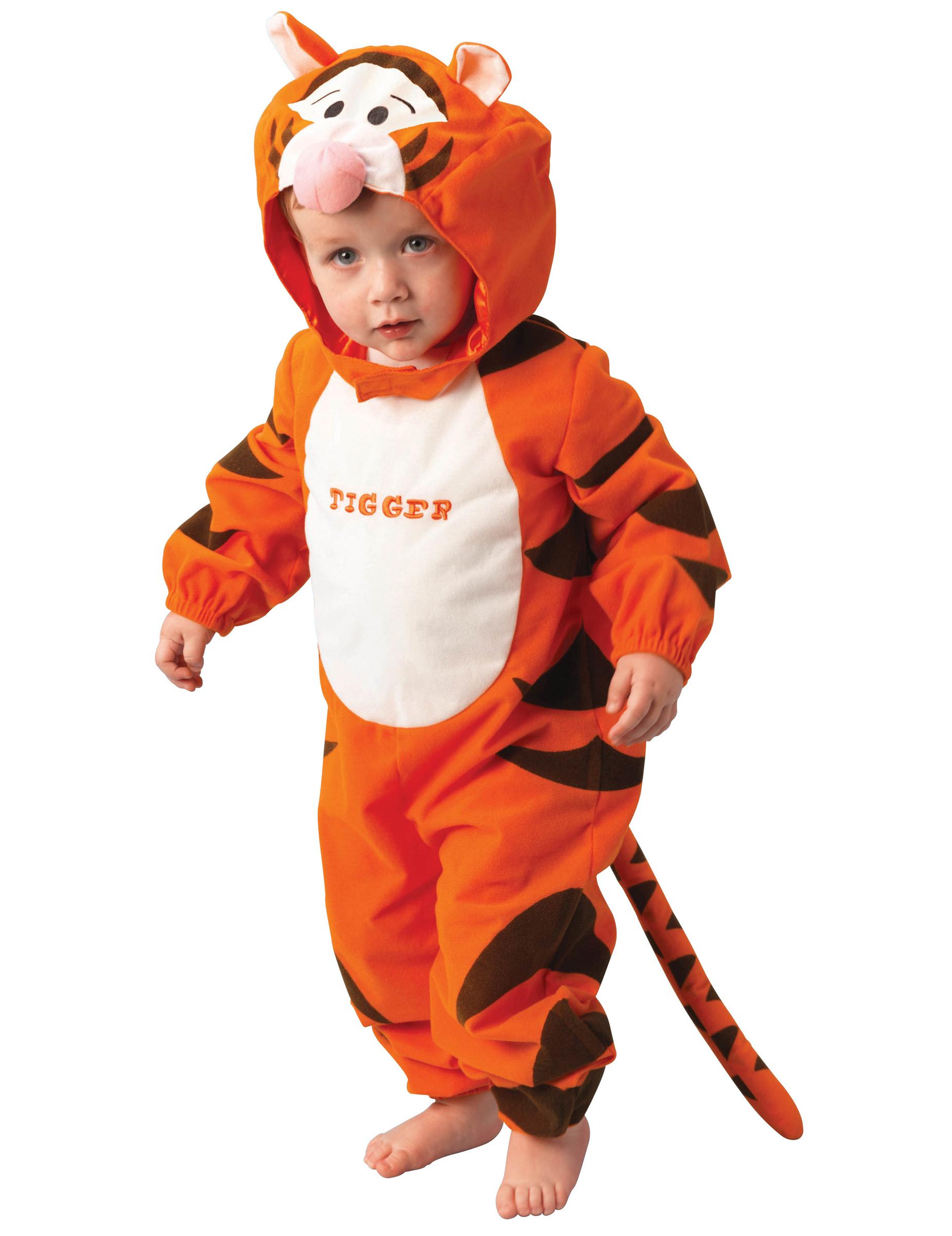 disney tigger babykost m lizenzware orange schwarz g nstige faschings kost me bei karneval. Black Bedroom Furniture Sets. Home Design Ideas