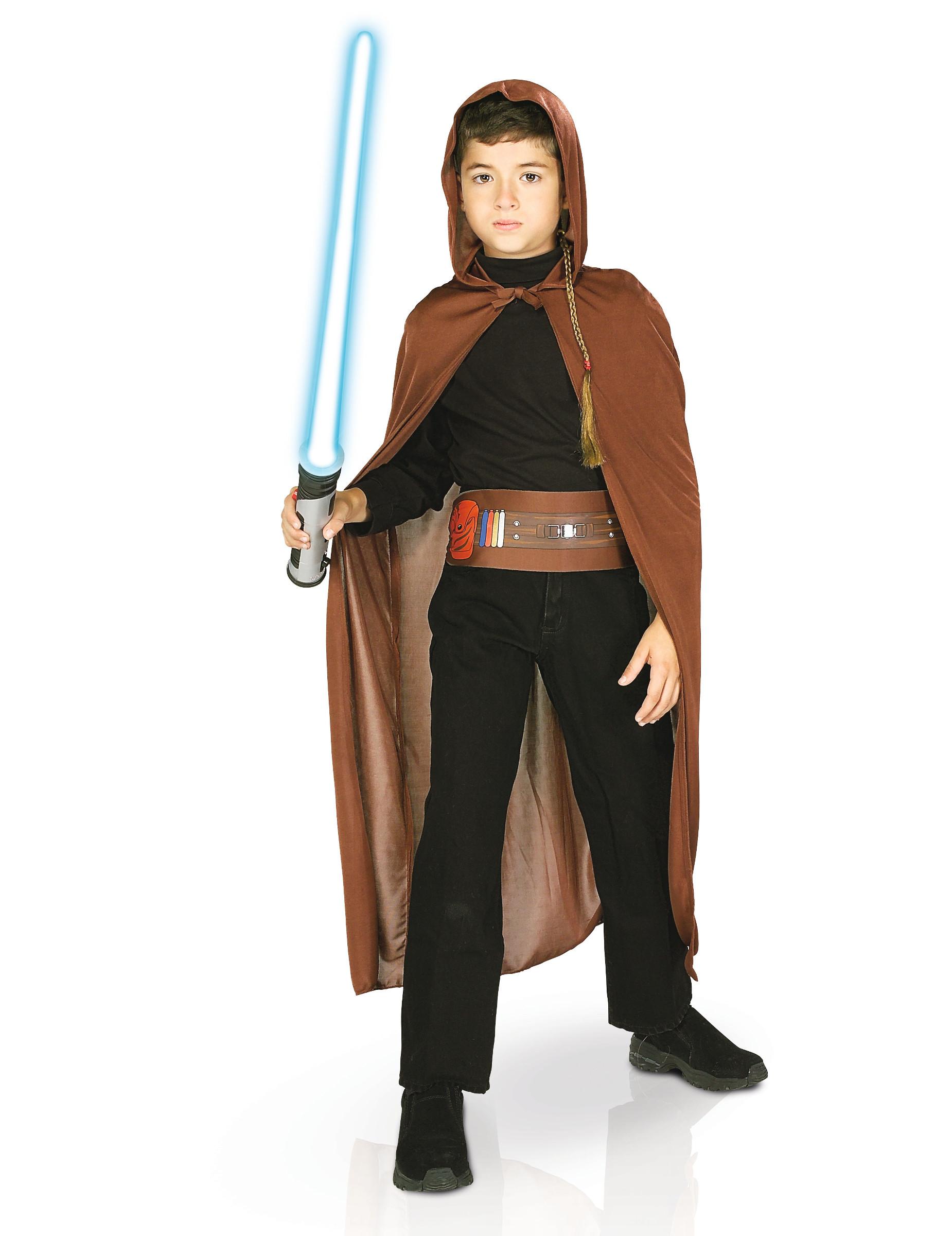 Jedi Ritter Set Star Wars Kinderkostüm Braun Günstige Faschings