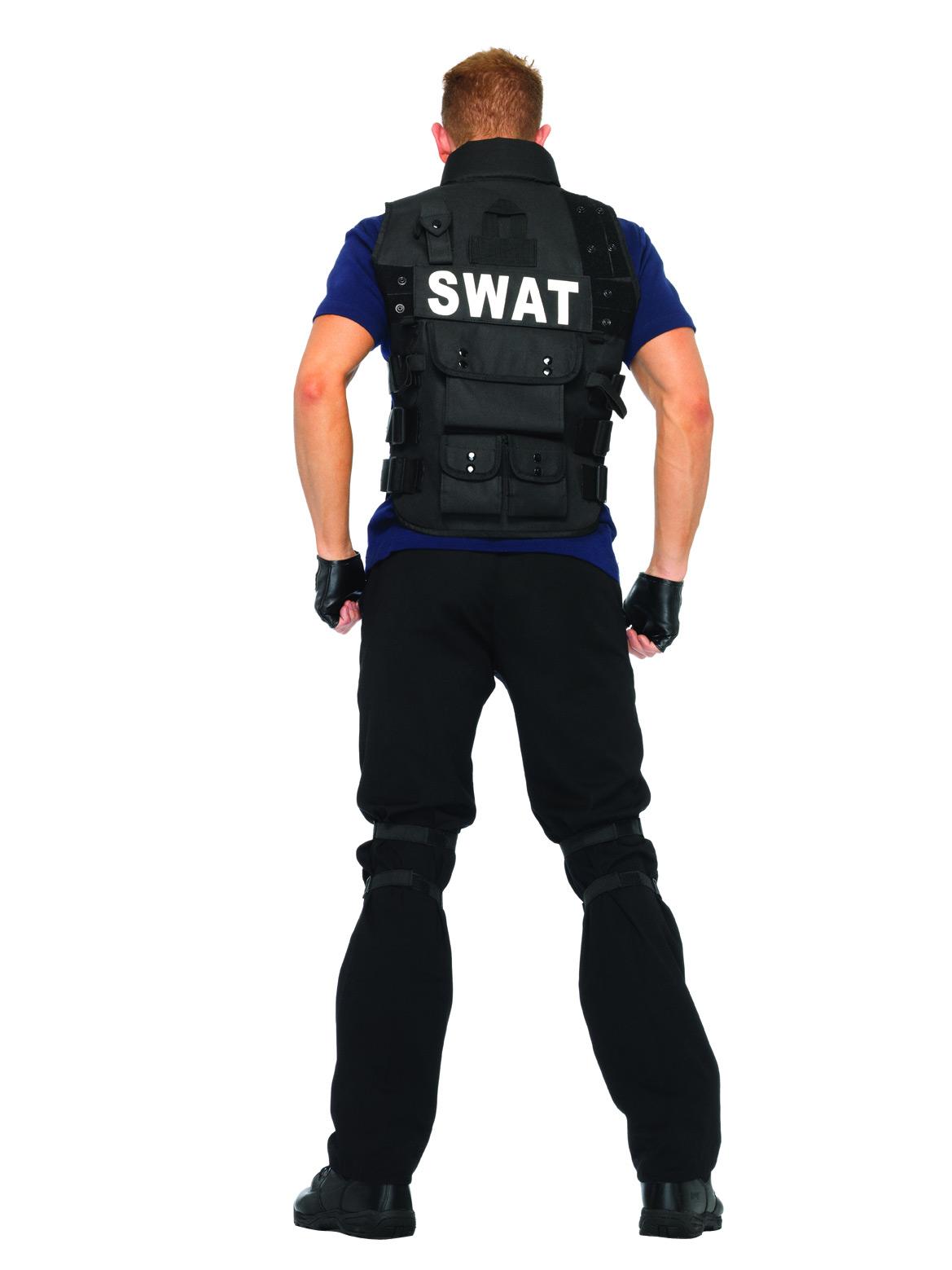 swat offizier kost m schwarz blau g nstige faschings kost me bei karneval megastore. Black Bedroom Furniture Sets. Home Design Ideas