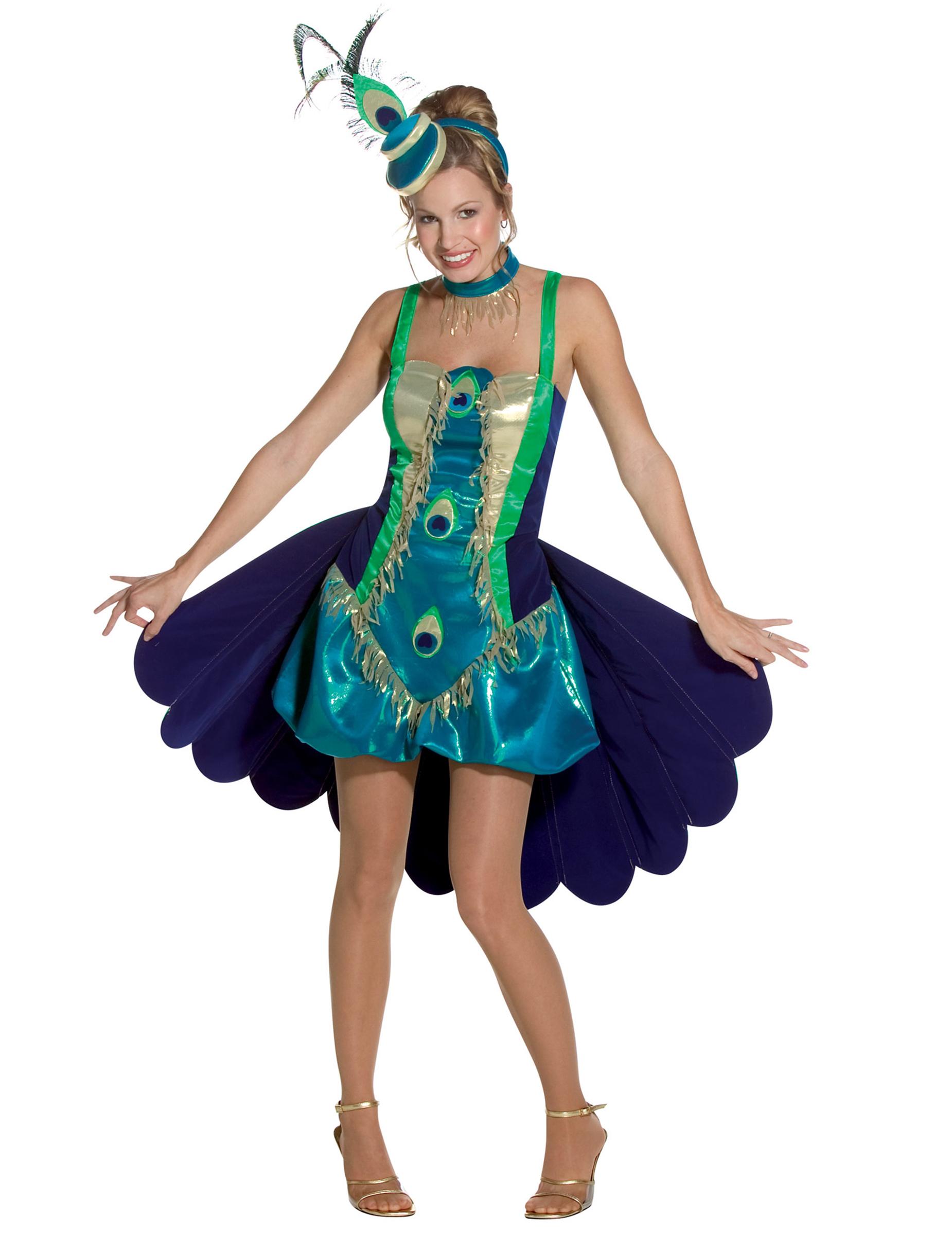Pfau Kostüm Karneval DeluxeGünstige Megastore Faschings Kostüme Bei OXTkZPiu
