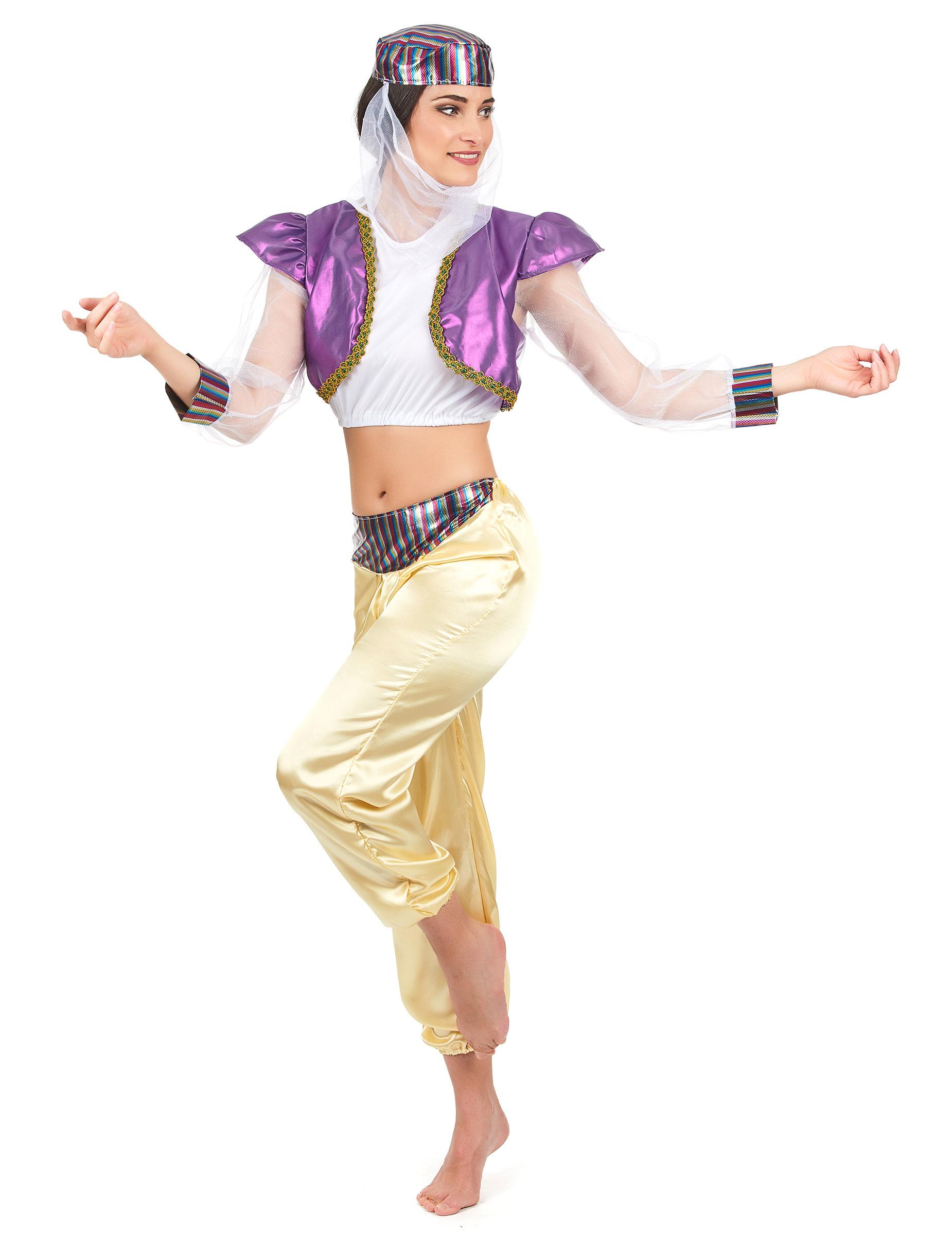 Orientalische Tanzerin Damenkostum Bunt Gunstige Faschings Kostume