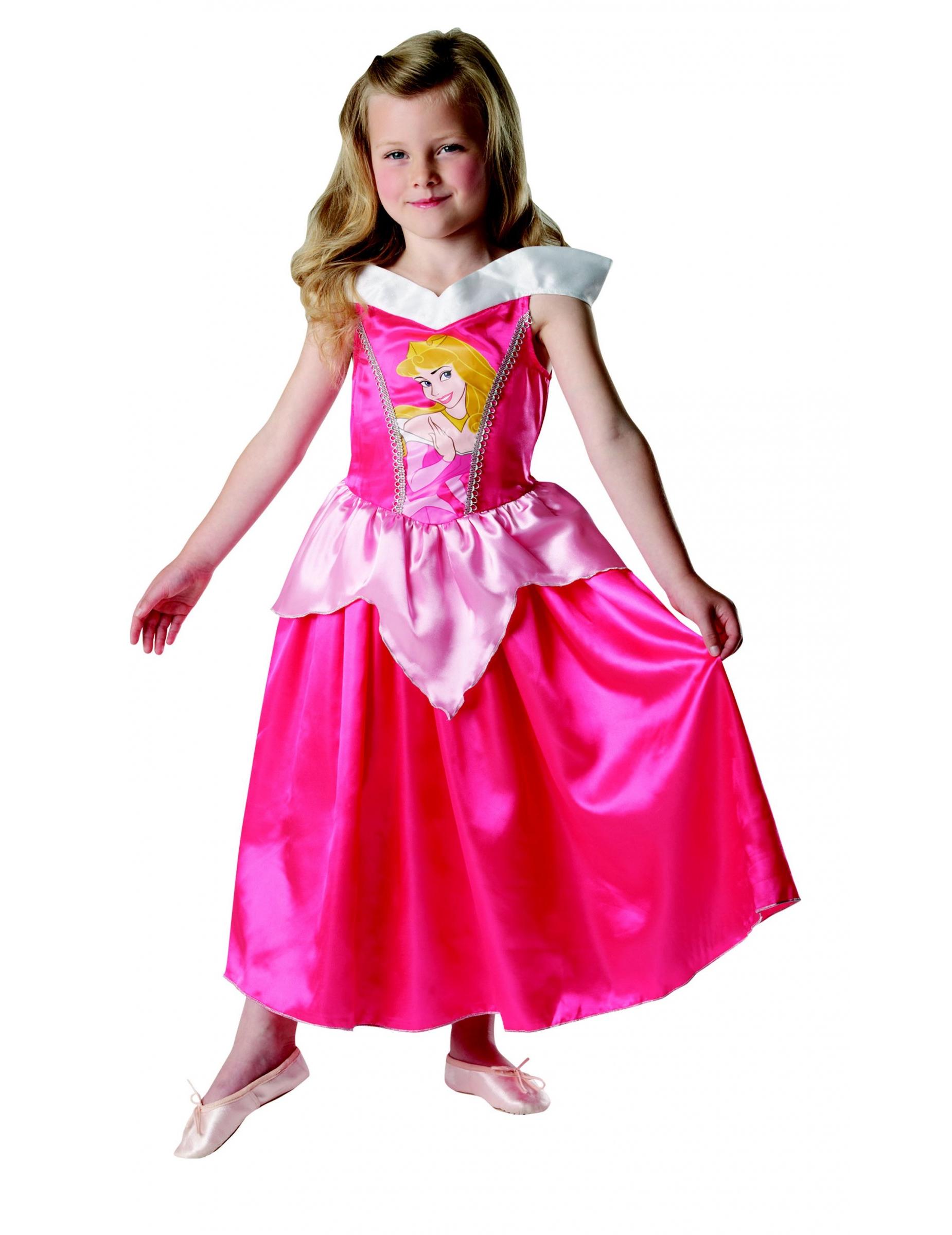 dornr schen disney prinzessinnen m rchenkost m kinderkost m rosa pink g nstige faschings. Black Bedroom Furniture Sets. Home Design Ideas