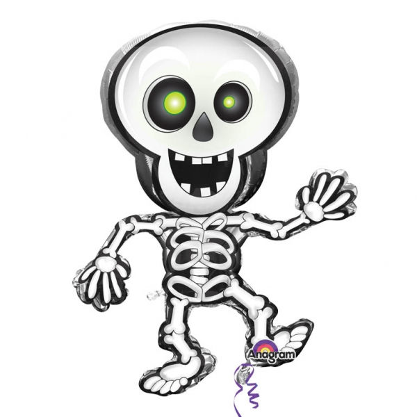 s sser folien luftballon skelett halloween party deko. Black Bedroom Furniture Sets. Home Design Ideas