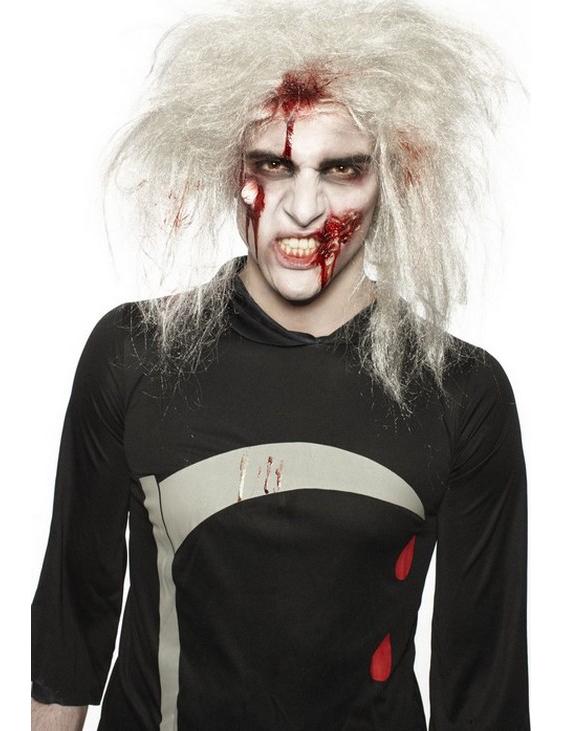 Halloween Zombie Schmink.Zombie Schmink Set Fur Herren 14g Rot Weiss Schwarz