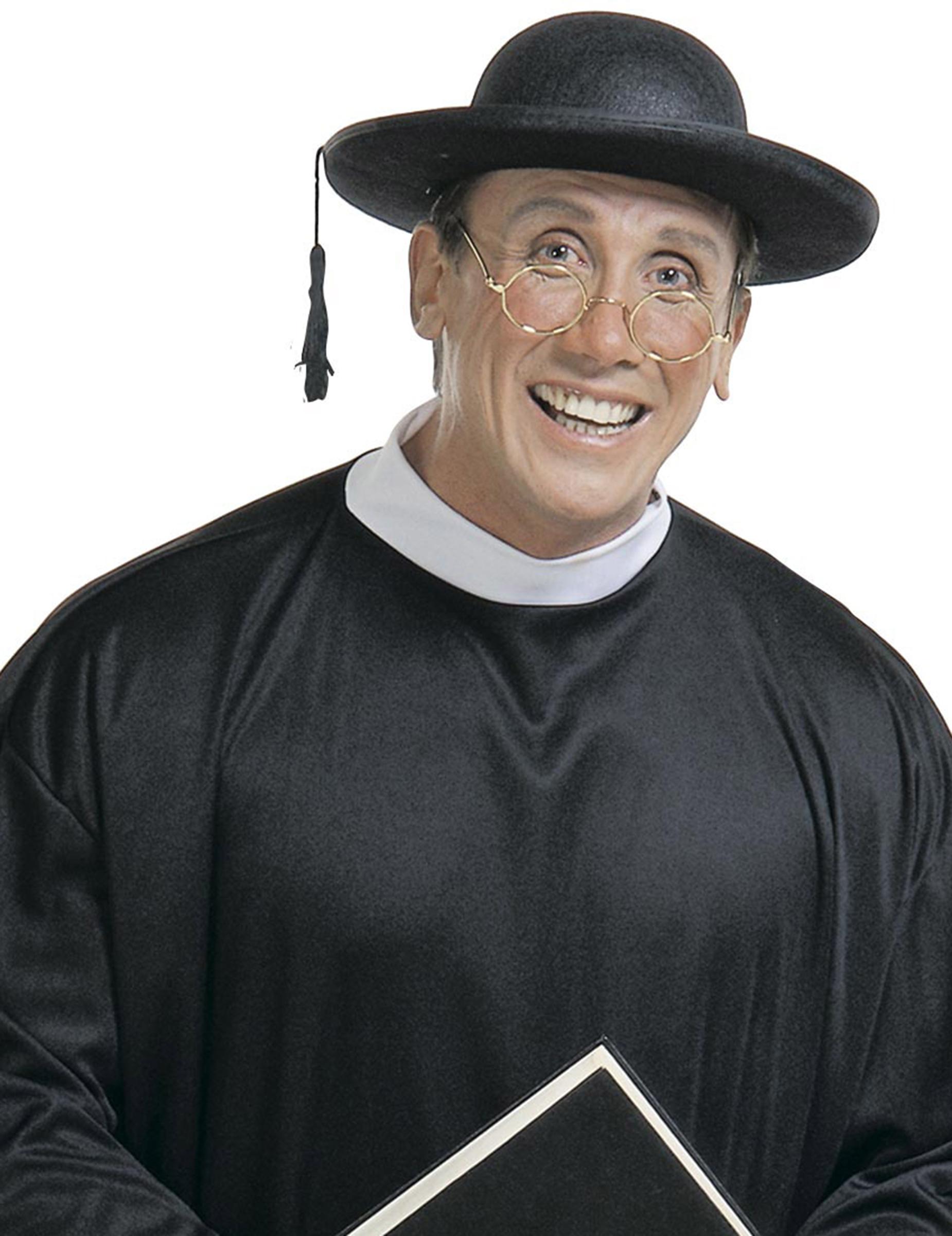 Priester Hut Schwarz Gunstige Faschings Accessoires Zubehor Bei