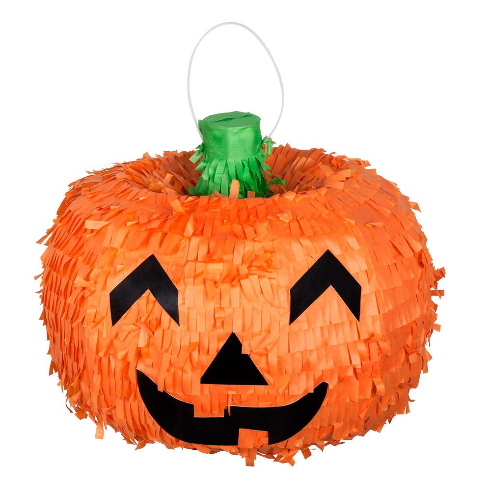 Kurbis Pinata Halloween Dekoration Fur Kinder Orange 32cm