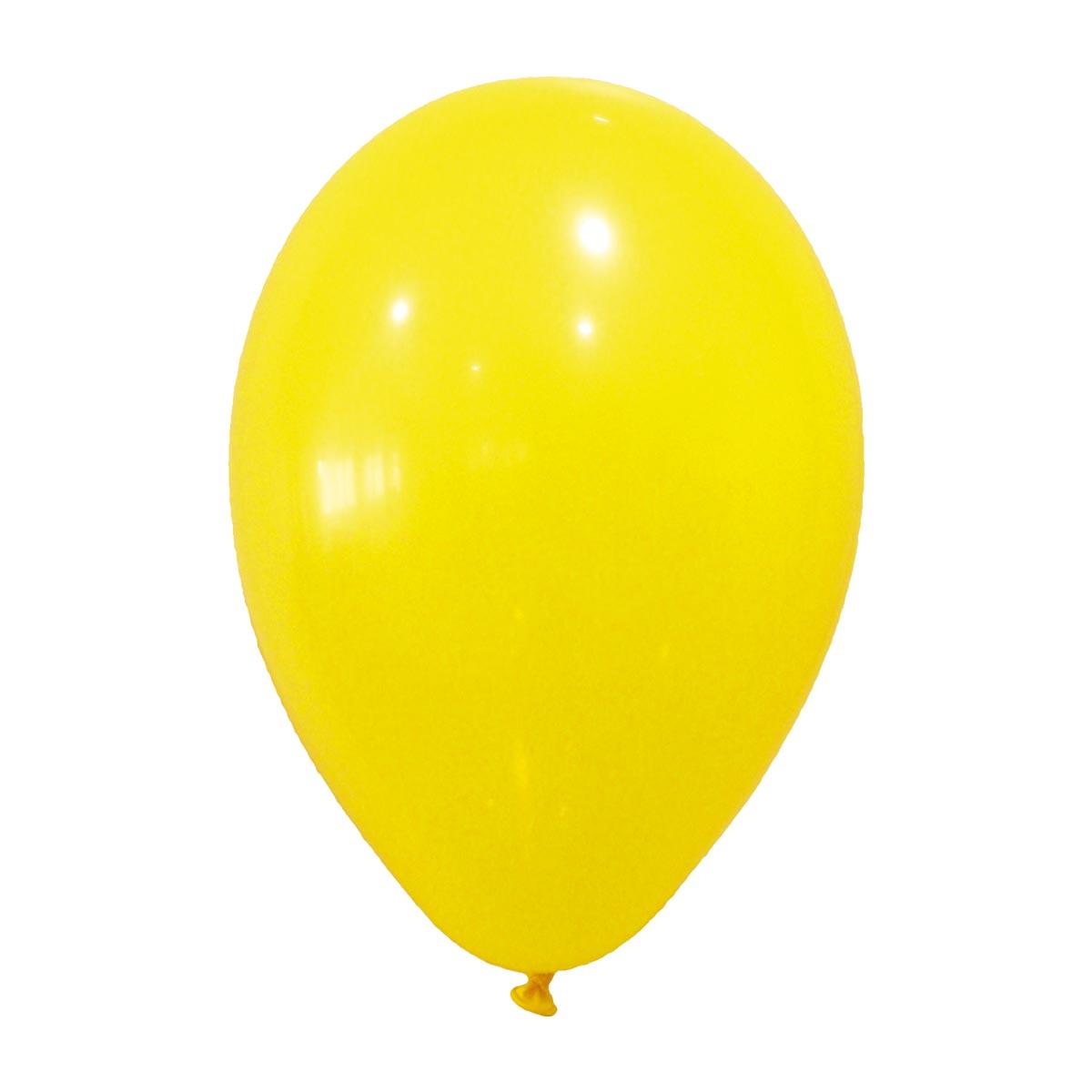 Party Deko 24 : party luftballons party deko 24 st ck gelb 25cm g nstige ~ Watch28wear.com Haus und Dekorationen