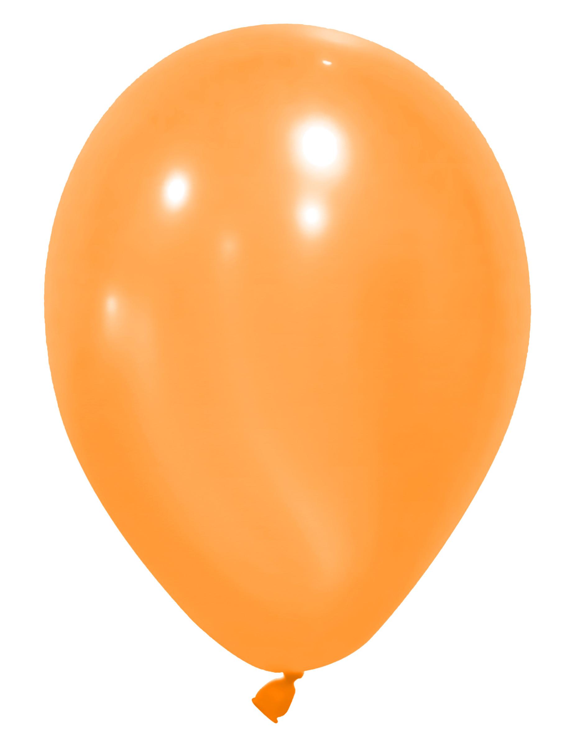 Party Deko 24 : party luftballons party deko 24 st ck orange 25cm ~ Watch28wear.com Haus und Dekorationen