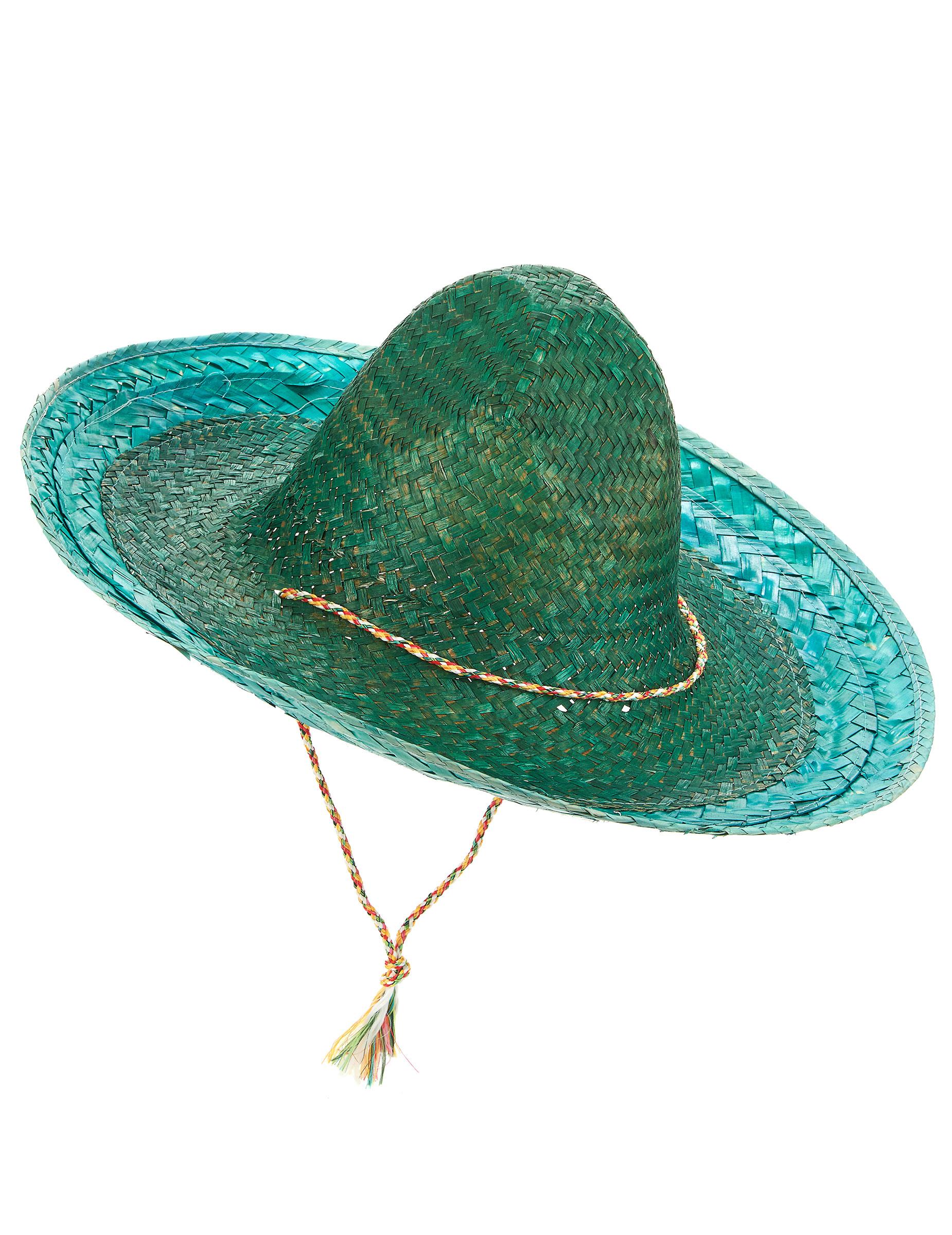 Sombrero Mexiko Hut Grun Gunstige Faschings Accessoires Zubehor