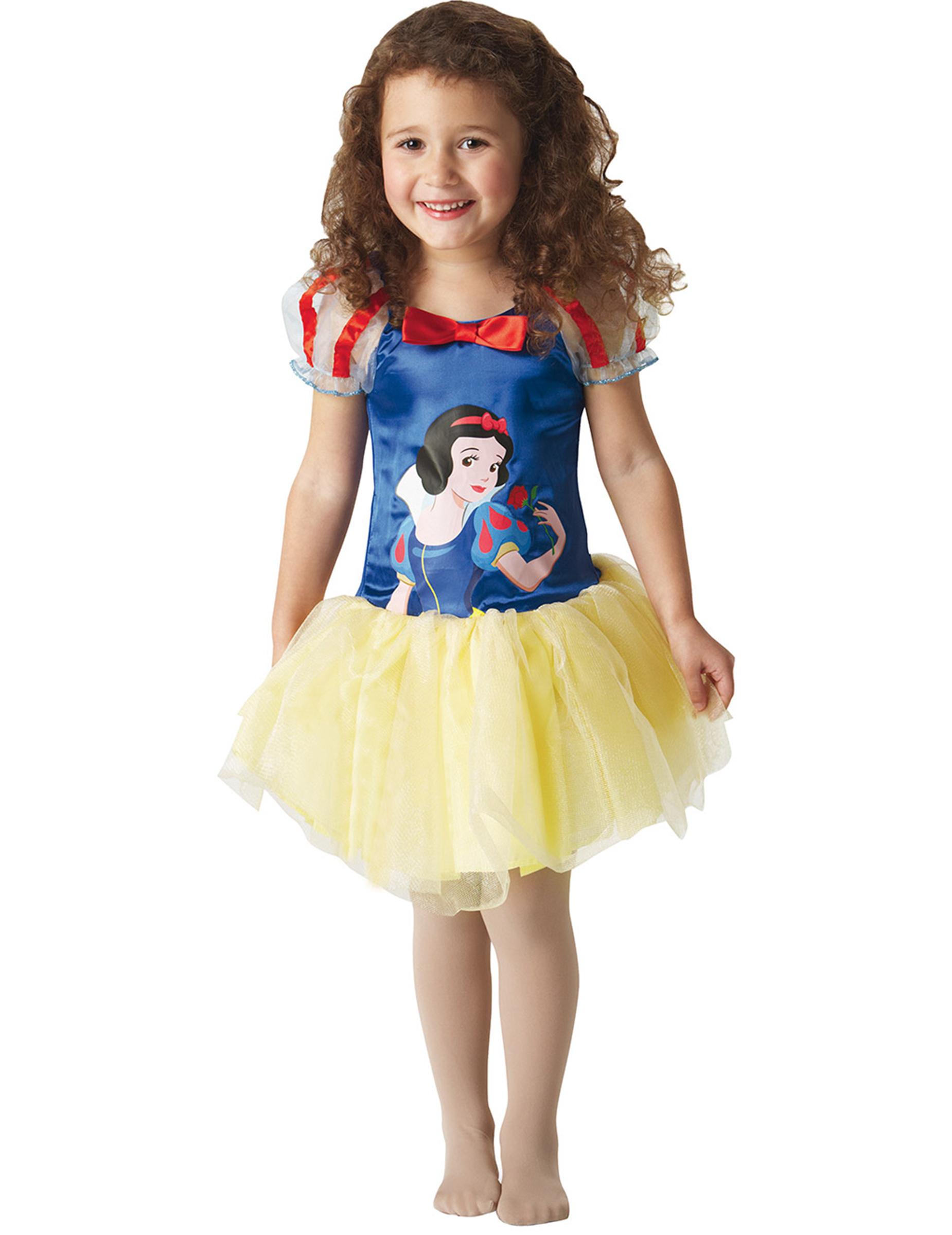 schneewittchen ballerina kinder kost m blau gelb. Black Bedroom Furniture Sets. Home Design Ideas