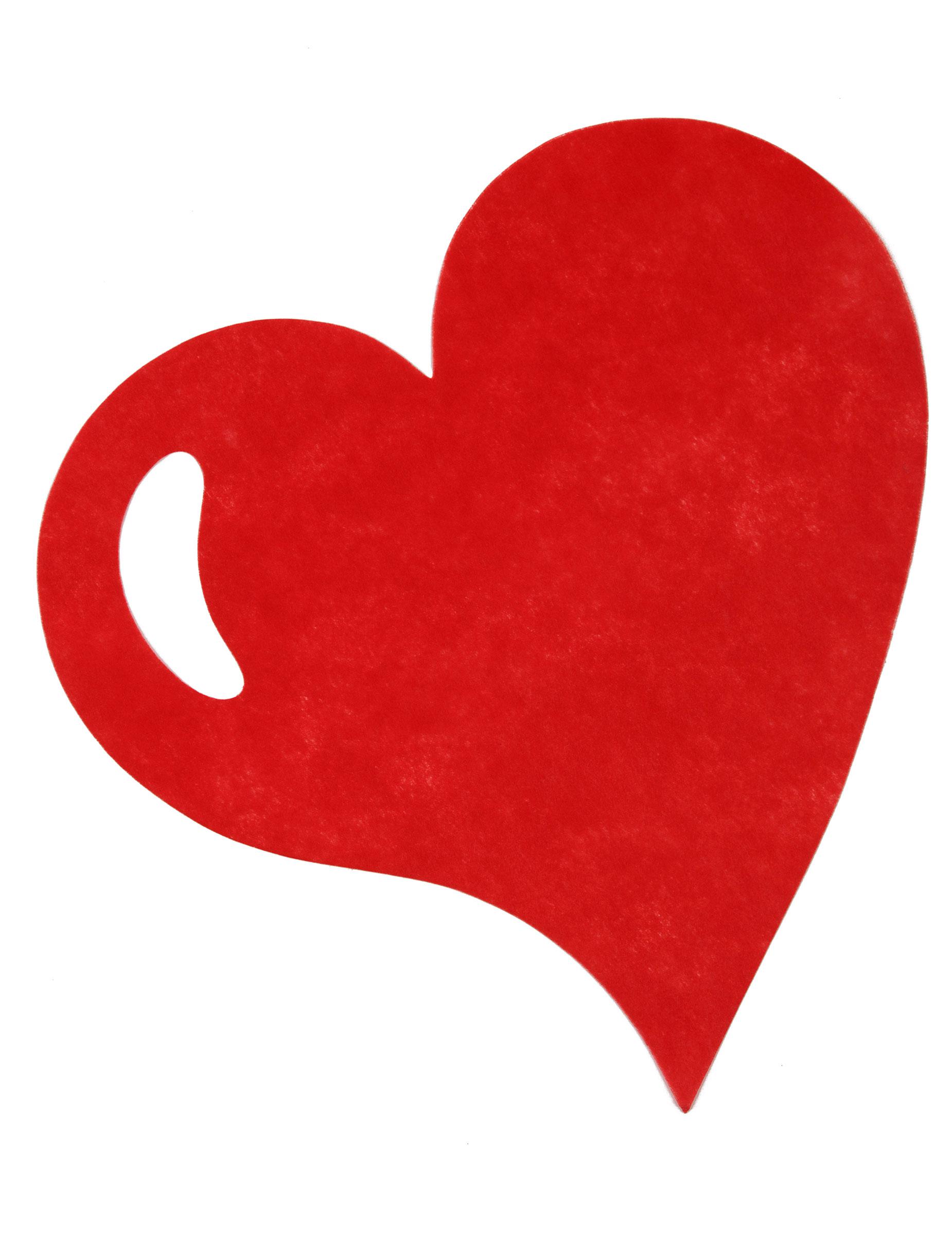 Tisch unterlagen herz tischdeko 50 st ck rot g nstige for Herz tischdeko
